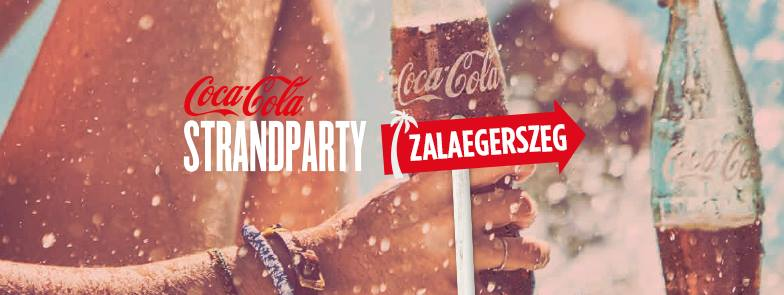 Coca Cola Strandparty az AquaCity-ben