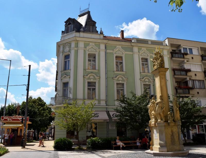 Az egykori városháza és múzeum épülete