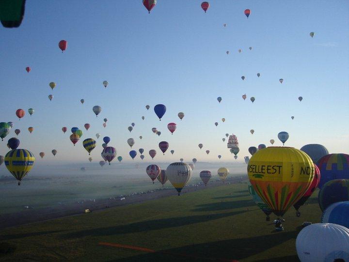 Hőlégballonnal Zalaegerszegen