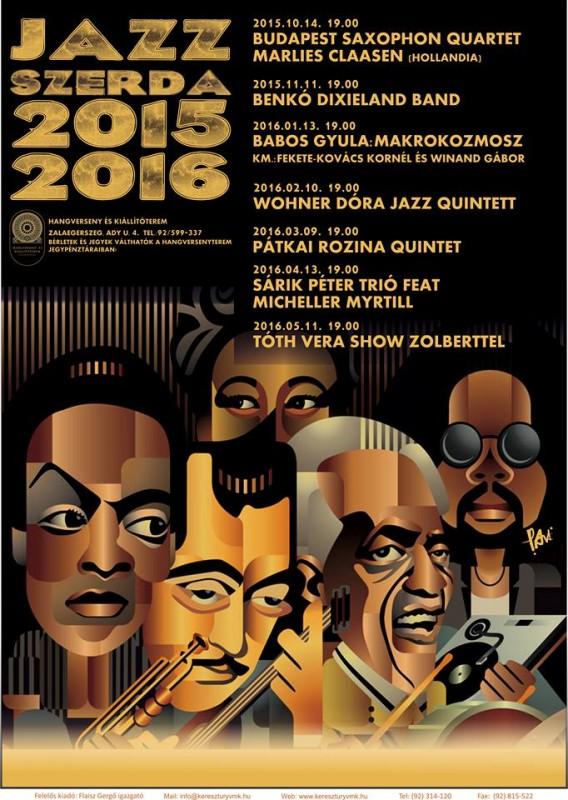 Jazz Szerda 2015/2016 - WOHNER DÓRA JAZZ QUINTETT