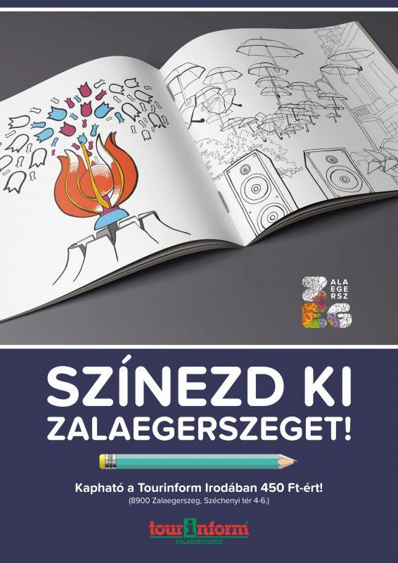 Színezd ki Zalaegerszeget!
