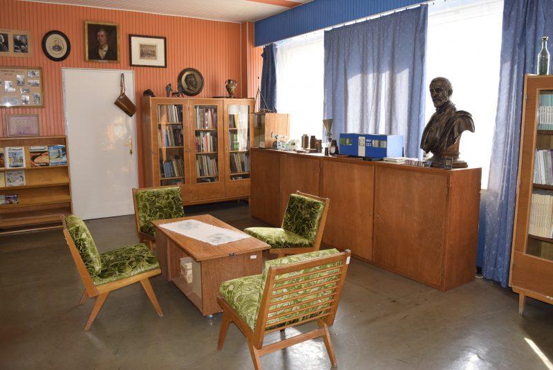 Az olajipari múzeum páterdombi gyűjteményei