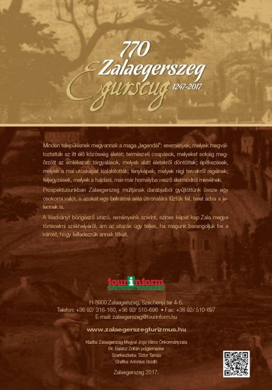 Megújult a Zalaegerszeg titkai című kiadvány