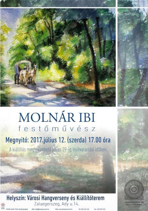 Molnár Ibolya festőművész kiállítása