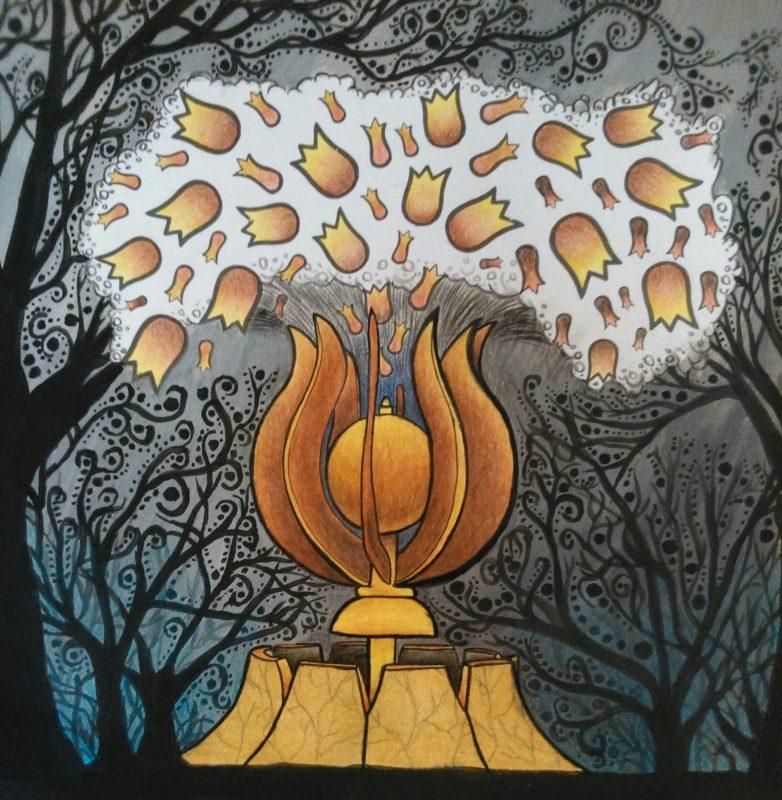 A hét színkavalkádja 4. rész: Dísz tér, ahol a tulipán cseppjei a csipkéig érnek