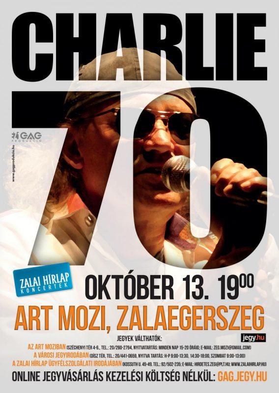 Charlie 70 koncert turné