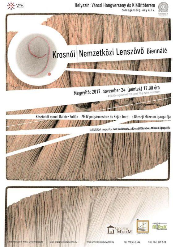 9. Krosnói Nemzetközi Lenszövő Biennálé
