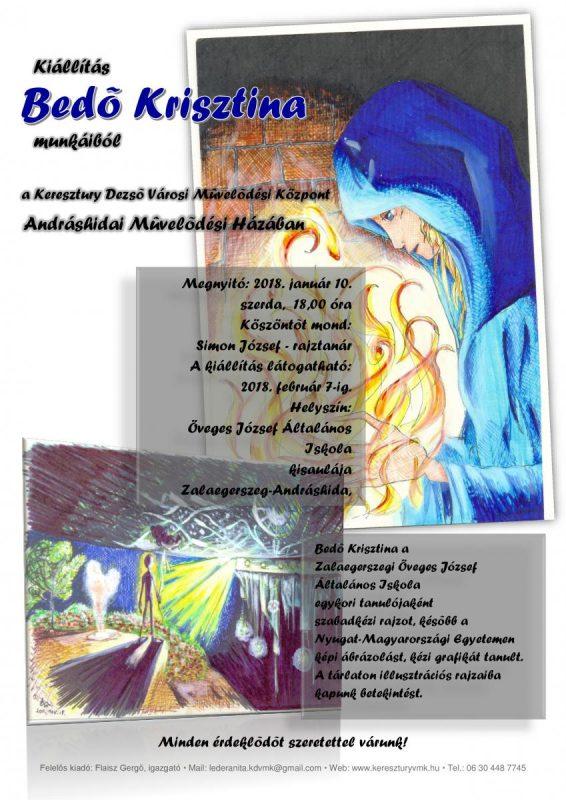 Kiállítás Bedő Krisztina munkáiból