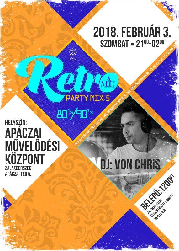 KULTÚR-ZSÚR: Retro-Party Mix