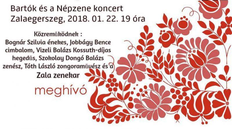 Bartók és a népzene - Gálakoncert a Magyar Kultúra Napja alkalmából