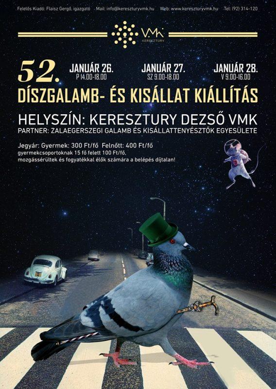 52. Díszgalamb- és Kisállat Kiállítás