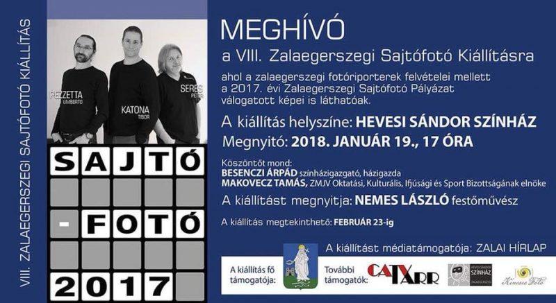 VIII. Zalaegerszegi Sajtófotó Kiállítás