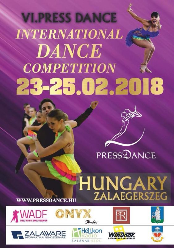 VI. Press Dance International Dance Competition